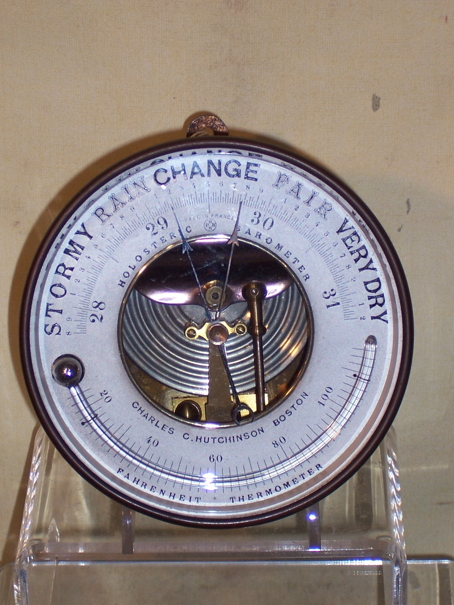 A489 Aneroid Barometer